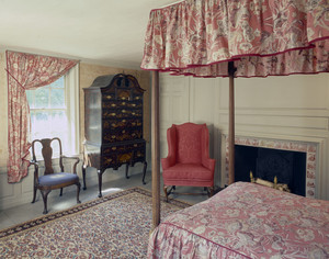 Bedroom, Josiah Quincy House, Quincy, Mass.