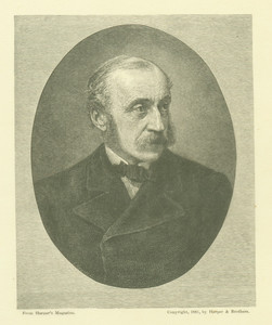 Portrait of Charles Eliot Norton from Harper's Magazine