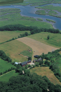 Aerial view, Cogswell's Grant, Essex, Mass.