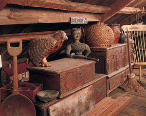 Attic, Cogswell's Grant, Essex , Mass.