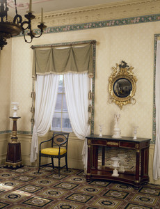 Withdrawing room, Harrison Gray Otis House, First, Boston, Mass.