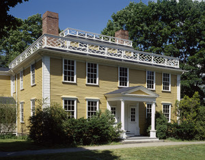 Exterior view, Josiah Quincy House, Quincy, Mass.