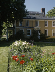 Exterior view from the side, Josiah Quincy House, Quincy, Mass.