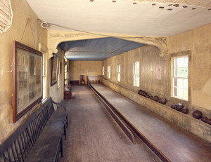 Bowling alley, Roseland Cottage, Woodstock, Conn.