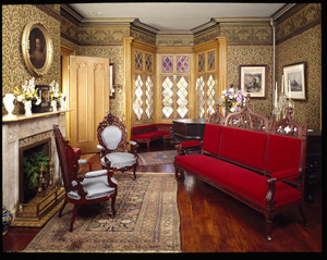 Back parlor, Roseland Cottage, Woodstock, Conn.