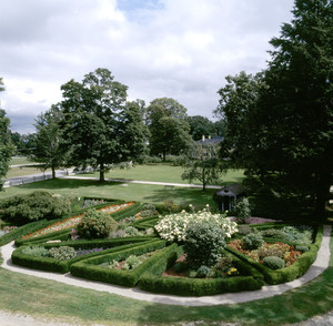 Parterre, Roseland Cottage, Woodstock, Conn.