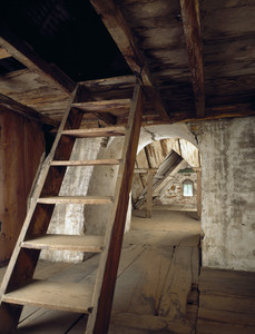 Attic, Spencer-Peirce-Little Farm, Newbury, Mass.