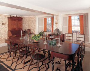 Dining room, Spencer-Peirce-Little Farm, Newbury, Mass.