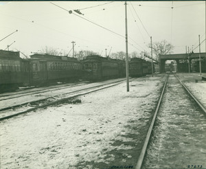 Mattapan Square Station, Dorchester, Mass., Jan. 11, 1944