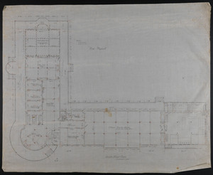 Set of floor plans of the New Pequot Hotel, New London, Conn., undated