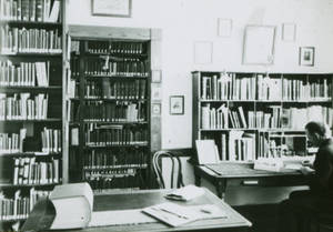 Bowne in Office (April 1899)