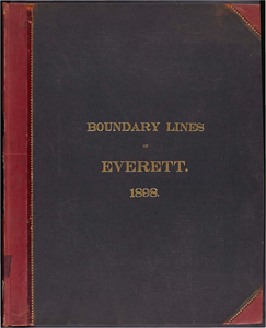 Atlas of the boundaries of the city of Everett, Middlesex County