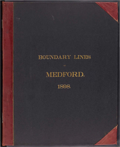 Atlas of the boundaries of the city of Medford, Middlesex County
