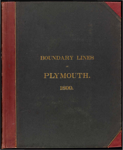 Atlas of the boundaries of the town of Plymouth, Plymouth County