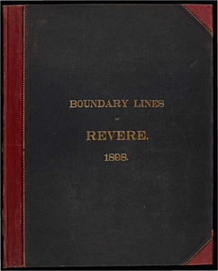 Atlas of the boundaries of the town of Revere, Suffolk County