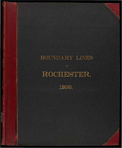 Atlas of the boundaries of the town of Rochester, Plymouth County