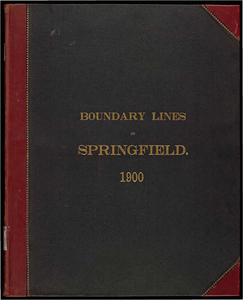 Atlas of the boundaries of the city of Springfield, Hampden County