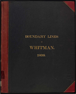 Atlas of the boundaries of the town of Whitman, Plymouth County