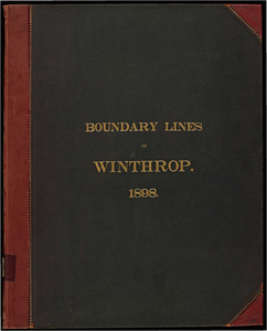 Atlas of the boundaries of the town of Winthrop, Suffolk County
