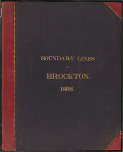 Atlas of the boundaries of the city of Brockton, Plymouth County