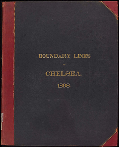 Atlas of the boundaries of the city of Chelsea, Suffolk County
