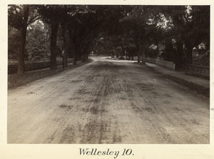 Boston to Pittsfield, station no. 10, Wellesley