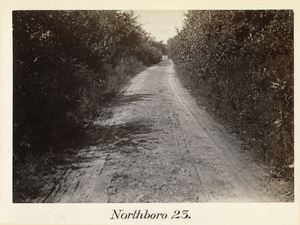 Boston to Pittsfield, station no. 23, Northboro