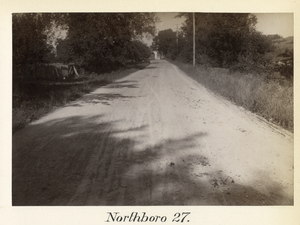 Boston to Pittsfield, station no. 27, Northboro