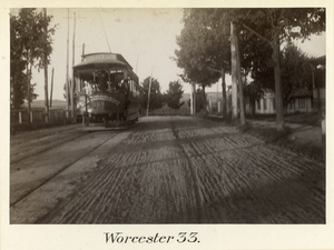 Boston to Pittsfield, station no. 33, Worcester