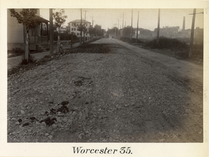 Boston to Pittsfield, station no. 35, Worcester