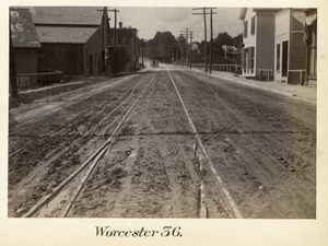Boston to Pittsfield, station no. 36, Worcester