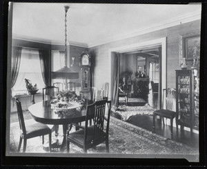 Mrs. T.G. Plant's dining room