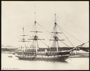 U.S.S. Constitution, Boston, Mass., April 1899