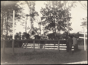 The Country Club, Brookline, MA Horse jumping.