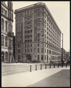 Hotel Touraine, Boylston at Tremont Streets, Boston, Mass., October 1897