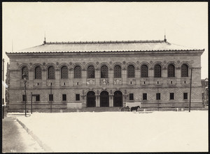 Boston Public Library, Copley Square, Boston, Mass.