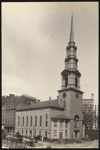 Park Street Church, Park and Tremont streets, Boston, Mass., undated