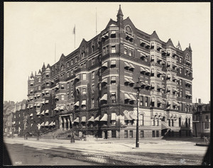 Hotel Brunswick, Boylston Street at Clarendon Street, Boston, Mass.