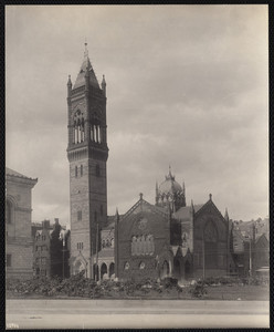 New Old South Church, Dartmouth and Boylston Streets, Boston, Mass.