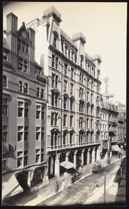 Boston, Adams House, Washington St. near Avery, Boston, Mass., October 26, 1906