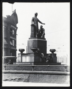 View of the Emancipation Group, Park Square, Boston, Mass., June 5, 1913