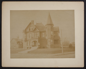 Unidentified House with Tower, Providence, R.I.