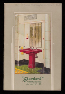 Standard Plumbing Fixtures for the home, Standard Sanitrary Mfg. Co., Pittsburgh, Pennsylvania