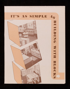 It's as simple as building with blocks, Edw. France & Son, 1607 N. Capitol Ave., Indianapolis, Indiana