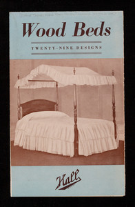 Wood beds, twenty-nine designs, Frank A. Hall & Sons, 25 West 45th Street, New York, New York