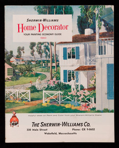 Sherwin-Williams home decorator, your painting economy guide, The Sherwin-Williams Co., Cleveland, Ohio