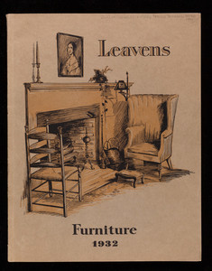 Leavens Furniture 1932, William Leavens & Co., Inc., 32 Canal Street, Boston, Mass.