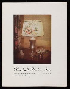 Catalog for Marshall Studios, inc., lampshades, lamps, 3001 N. New Jersey Street, Veedersburg, Indiana