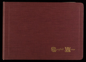 Album of photographs, Grosfeld House, 320 East 47th Street, New York, New York