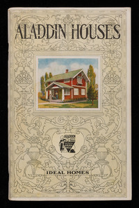 Aladdin Houses built in a day catalogs no. 26, North American Construction Company, Bay City, Michigan